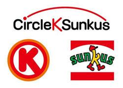 サークルKサンクスのロゴ